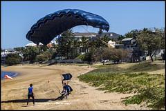 Tandem para landing on Queens Beach Redcliffe-1=