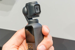 Stabilisierte Handheld-Kamera DJI Osmo Pocket Ultra Portable