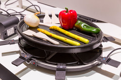 """Clatronic RG 3517 Raclette-Grill mit """"Cool-Touch""""-Gehäuse"""