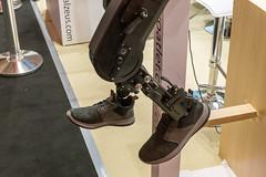 Motorisierte Beinprothese von Exoatlet II