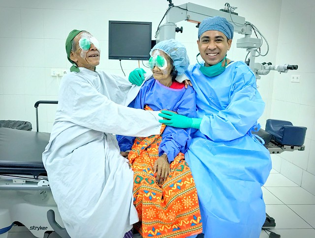 Bilateral Cataract Surgery in a couple