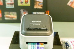 Brother VC-500W compact color printer