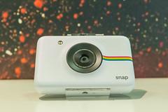 Instant picture camera: Polaroid Snap Kamera und Drucker, im Retrodesign
