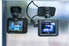 Dashcams: JVC und Kenwood DRV-300 mit FullHD und GPS