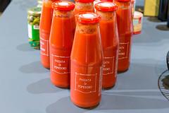 Gusto Rosso Passata Di Pomodoro: Tomatensauce in Glasflaschen