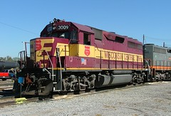 Wisconsin Central WC 3009 (GP40) Johnston Yard Memphis, Tennessee