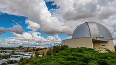 Image by hut640 (184000041@N08) and image name Jewett Observatory photo  about WSU Pullman WA at the top of the hill above the Veterinarian Teaching Hospital