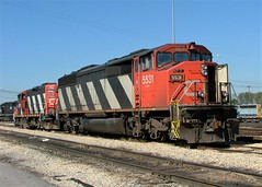 Canadian National CN SD60F Johnston Yard Memphis, Tennessee