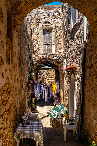 Vessa, Chios Island, Greece