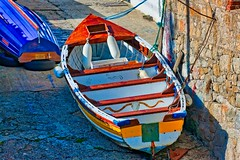 BOATS AT COLIEMORE HARBOUR [OLD PHOTOGRAPHS - 16 MARCH 2008]-155651
