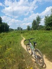 2019 Bike 180: Day 120 - Powerline Trail