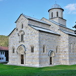 01 Peja 13th Century Monastry Church Kosovo.jpg by Dave Minty