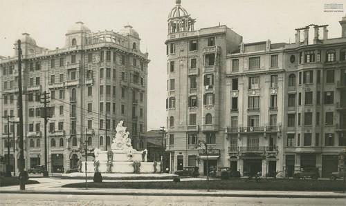 Praça Júlio Mesquita, São Paulo, anos 1920
