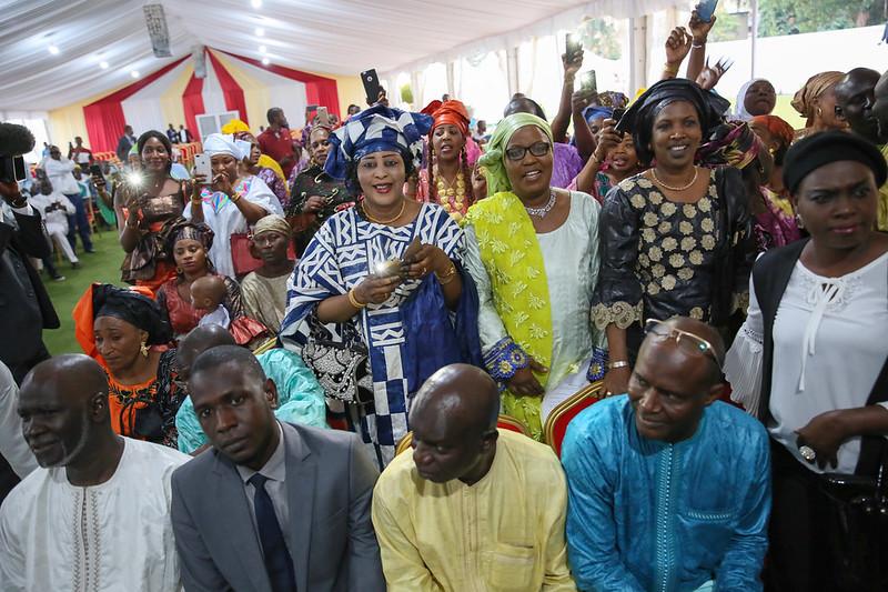 Rencontre la communauté sénégalaise du Congo