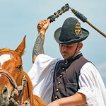 Hungarian Horseman by Rachel Dunsdon