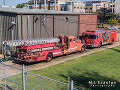 Fire trucks   Memphis, Tennessee