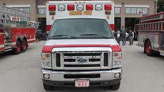 Akron Fire Department Medic 4 Wheeled Coach Ford E350