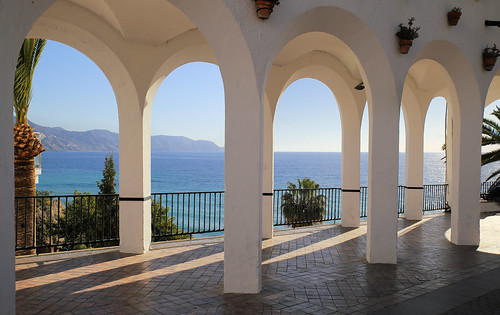 The seafront Balcony of Europe in Nerja