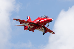 Red Arrows Arrival