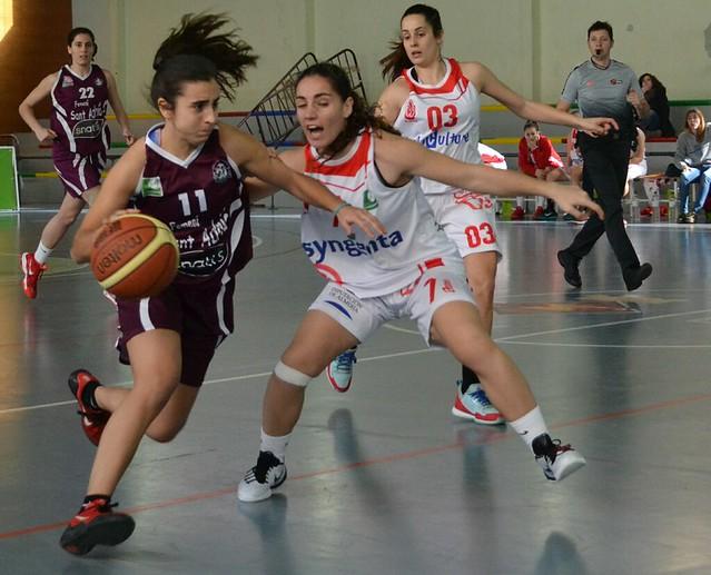 Senior LF2 vs Almería (Febrero 2016)