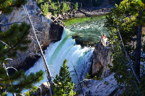 Upper Falls of the Yellowstone River, Yellowstone National Park Wyoming