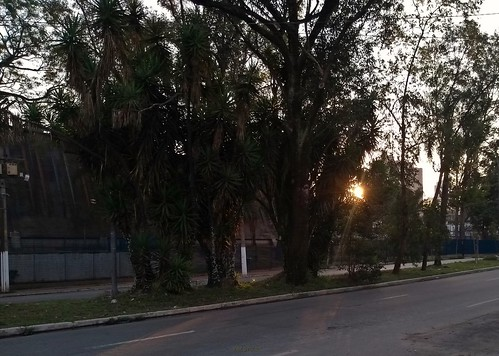 Por do Sol no CEU Jaguaré