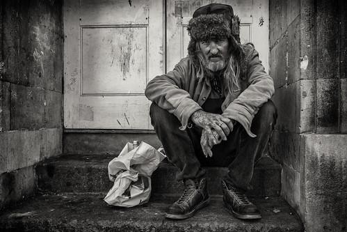 Street Portrait of Ivan