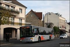 Setra S 415 NF – Cars Lacroix / STIF (Syndicat des Transports d'Île-de-France) / Valoise n°869 - Photo of Butry-sur-Oise