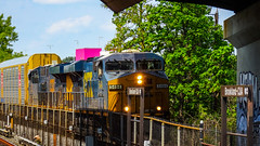 CSX Freight Train @ Brookland CUA Station