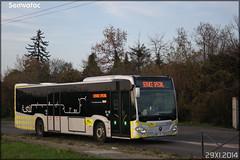 Mercedes-Benz Citaro C2 – Stivo (Société de Transport Interurbaine du Val d'Oise) / STIF (Syndicat des Transports d'Île-de-France) n°909 - Photo of Auvers-sur-Oise