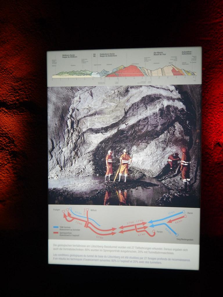 Ausflug 2019 Lötschberg Basistunnel NEAT