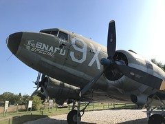 Douglas C-47 (Dakota) at Merville Battery. Merville Franceville.