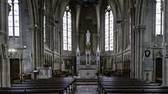 Nef de la Basilique Notre-Dame-de-la-Recouvrance - Photo of Saint-Hilaire-de-Briouze