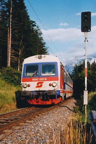 ÖBB 5047 037  Garmisch Partenkirchen - Pfronten-Steinach  - Lermoos