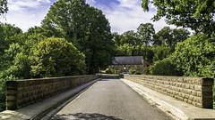 Pont au dessus de l'Orne proche de Clécy