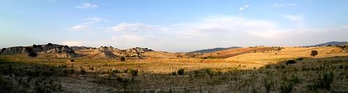 La campagna e i calanchi tra Aliano e Sant'Arcangelo