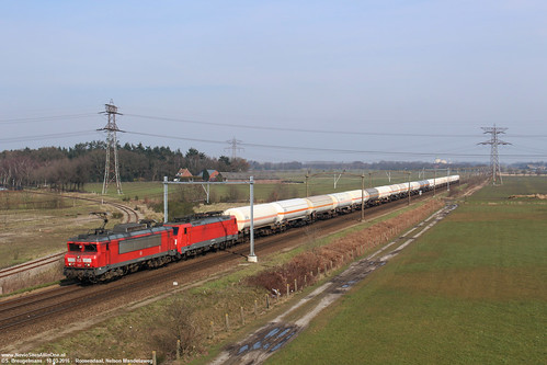 DBC 1612 & 189 029 - Roosendaal 10-03-2016.