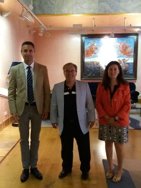 Visita de la Delegación de ONCE en Aragón