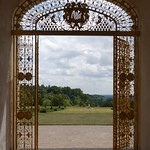 A garden gate at Cliveden by David Gregg