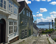 Bergen Harbor from the Museum