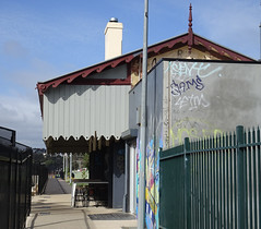Old Station with New Fences