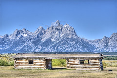 Image by Runemaker (runemaker) and image name Pioneer Cabin photo  about Jackson Hole, Wyoming, USA