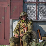 Paratrooper At Rest by Carl Kurstein