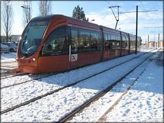 Alstom Citadis 302 – Setram (Société d'Économie Mixte des TRansports en commun de l'Agglomération Mancelle) n°1022 (Sarthe – Huisne)