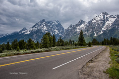 Image by jaegemt1 (46681696@N07) and image name Riding the Curves... photo  about I am ready to go back, to look at things with new eyes, see things I did not notice, and discover some new things...  Mountain View Turnout, Grand Teton National Park, Wyoming...June 2019
