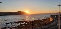 Solpor na Coruña