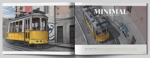MINIMAL - Lisbon Tram Scene