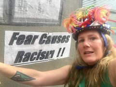 Fear Causes Racism with Goddess KRING selfie