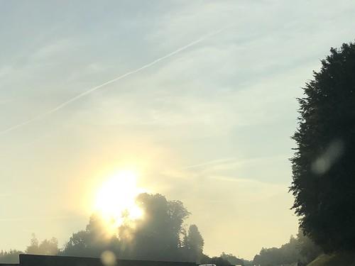 Soleil voile
