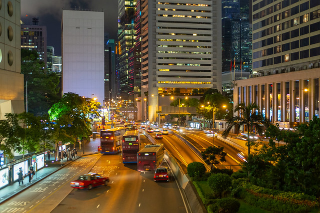 Central HK Harcourt Rd lll